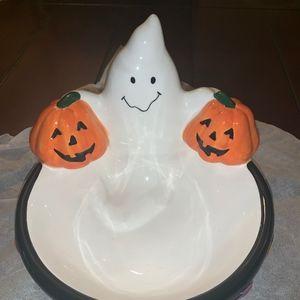 Ghost Pumpkin Candy Bowl!